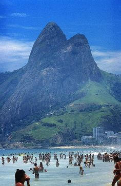 Next on our List: Rio de Janeiro, #Brazil. Marvel in the mountain views and soak up the sun at #Rio's Ipanema Beach. While you're there, check out the area's world-class restaurants, shops, theaters and galleries.  #StylishEscapes