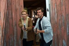 """Lucas Bryant and Emily Rose in Haven from """"Magic Hour Pt. 2"""""""