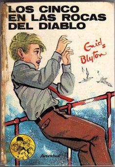 Los Cinco - me encantaban estos libros Nostalgia, Enid Blyton, Sweet Memories, Conte, Childhood Memories, Childrens Books, My Books, We Remember, Literature