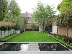 A Harrington Porter garden