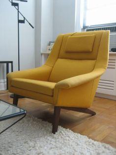 New York: Danish modern vintage Lounge Chair $1750 - http://furnishlyst.com/listings/396043