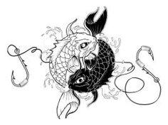 Yin Yang Koi Tattoo by Jitsiereveld