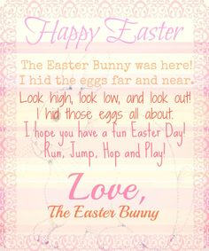 Bunny Letter | 72 Best Tooth Fairy Santa Easter Bunny Images Letter Templates