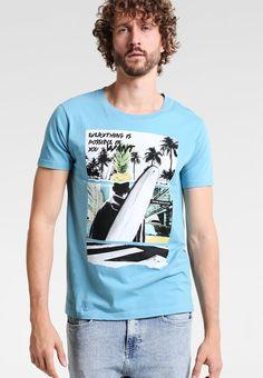 Tiffosi AIKEN - Camiseta print - blue - Zalando.es