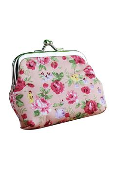 FGGS Floral Wallet Bag Keys Pouch Coin Purse(pink) , https://myalphastore.com/products/fggs-floral-wallet-bag-keys-pouch-coin-pursepink/,