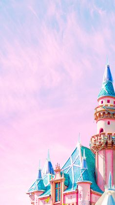 Disney castle iPhone wallpaper