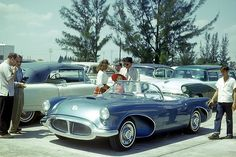 Oldsmobile F88 Concept Car at Sebring 1956