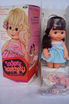 Arxon Puppe Lockenköpfchen von 1980 Vintage   eBay