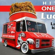 57 Ideas for chicken food truck design Chicken To Go, Fried Chicken, Food Trucks, Kfc, Food Truck Design, Food Design, Design Ideas, Mobile Shop, Mobile Cafe