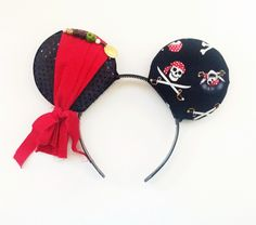 A personal favorite from my Etsy shop https://www.etsy.com/listing/250403361/jack-sparrow-inspired-ears-pirates-of