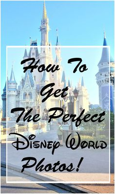 5 ways to get the best Disney World photos. Click here to find out where the best photo spots are and when to take the best photos without the crowds!    |Disney World phot spots| Disney World secrets| Disney World planning| Disney World tips| Disney World Secrets, Disney World Planning, Disney World Tips And Tricks, Disney Tips, Disney World Vacation, Disney Cruise Line, Disney World Resorts, Disney Vacations, Disney Parks