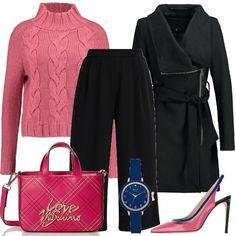 fa86df51224 L orologio blu  outfit donna Chic per ufficio e tutti i giorni