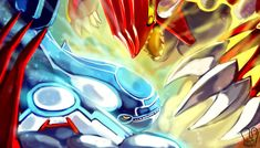 Pokemon Omega Ruby and Alpha Sapphire! Remake of Ruby & Sapphire version! Pokemon Alpha, Mega Pokemon, Pokemon Pins, Pokemon Fan Art, Code Pokemon, Fanart Pokemon, Pokemon Stuff, Sapphire Pokemon, Pokemon Omega Ruby