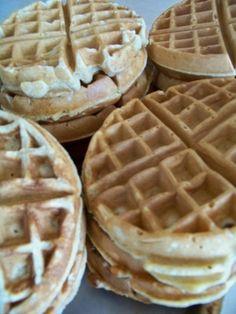 Healthy and yummy whole wheat waffles. by caroline