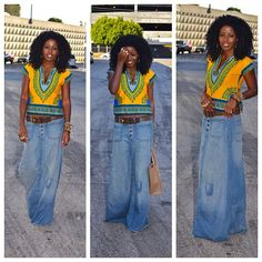 Today's Post! Relaxed in Dashiki
