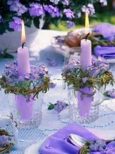 beautiful candle idea