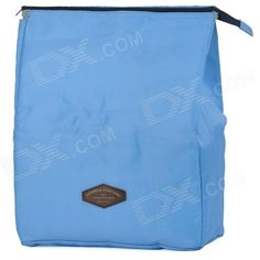 awesome Creeper Oxford Lunch  Picnic Insulated Bag - Blue (15L)
