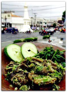 Belut cabe hijau. @kebeletbelut Yogyakarta