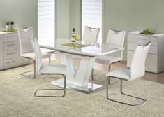 Masa din MDF Mistral #homedecor #inspiration #livingroom Grey Dining Tables, Dining Bench, Dining Chairs, Dining Room, Dining Sets, Esstisch Design, Outdoor Furniture Sets, Outdoor Decor, Modern
