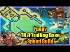 awesome Clash of Clans - Funny TH 8 Barbarian King Troll BaseHey Im Back With AnOther Clash Video This Time Funny TH 8 Barbarian King Troll Base Want free gems ?? Support This Channel You will get Free 50 Points...http://clashofclankings.com/clash-of-clans-funny-th-8-barbarian-king-troll-base/
