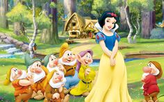 snow white and the seven dwarfs wallpaper 5
