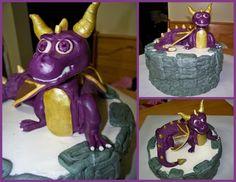 Skylander Spyro Cake