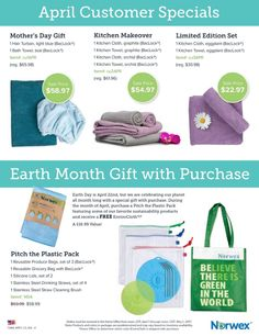 Norwex Hostess Specials and Customer Sales for April 2017 » Work with Water