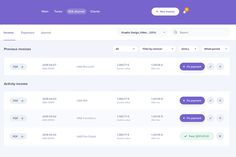 Lists are an important aspect of UI design and can have a big affect on the usability of your website or app UI. Find out how to nail them with this guide! Dashboard Design Template, Web Dashboard, Ui Web, Form Design Web, Design Ios, Site Design, Flat Design, Material Design Website, Google Material Design
