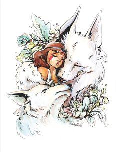 Princess Mononoke - Print