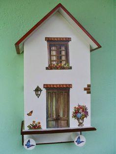 Casinha porta-chaves