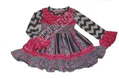 knit/woven cosette style dress