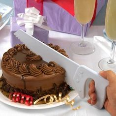 Saw cake cutter - great for a Bob the Builder Birthday party