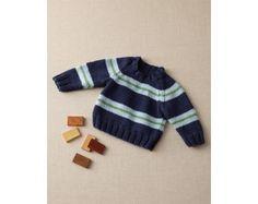 Crewneck Baby Sweater Pattern (Knit)