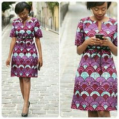 Short Ankara Dresses For Weddings - Latest Gown Styles In Nigeria Short Ankara Dresses, Short Gowns, African Print Dresses, African Fashion Dresses, African Dress, African Prints, Ghanaian Fashion, Ankara Fashion, African Lace