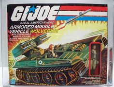 Cover Girl with Wolverine - G.I. Joe (1985)