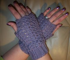 EASY VICTORIAN SHELL MITTS