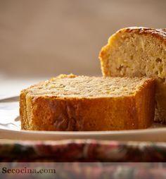Bizcocho sin grasa de manzana - Receta - Secocina