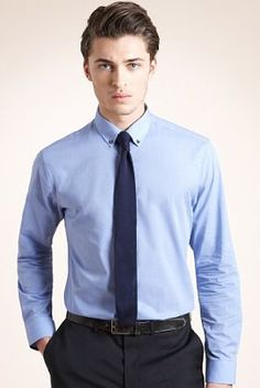 Slim Fit Limited Collection Cotton Rich Button-Down Shirt with Tie