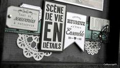 Préparons Noël J3 : Home déco par Cathyscrap85 - Florilèges Design Home And Deco, Mini Albums, Blog, Frame, Scrapbooking, Home Decor, Noel, Cards, Picture Frame