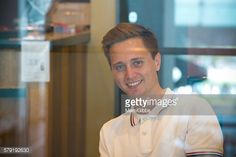 Stock Photo : Young man smiling inside coffee shop #Clement anquin(model)  #MamiGibbs(photo)