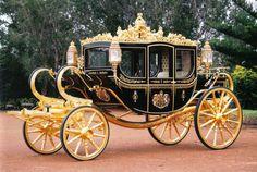 Carruaje Familia Real Británica