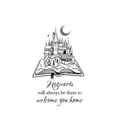 Hogart's is My Home Tattoo Harry Potter, Hogwarts is my Home tattoo Harry Potter Artwork, Harry Potter Drawings, Harry Potter Love, Harry Potter World, Home Tattoo, Hogwarts, Harry Potter Information, Harry Tattoos, Tattoo Sites
