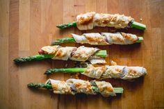 Spargel Flammkuchen Spirali Avocado, Food Inspiration, Sushi, Vegetables, Ethnic Recipes, Banana, Finger Food, Easy Meals, Food Food