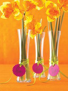 Des vases en cadeau