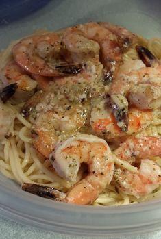 Easy Shrimp & Pasta