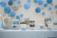 """This is one of my favorite themes that TOAST Events has done! Great idea for a baby shower, """"She's ready to POP""""!"""