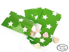 Papiertüten  Sterne, 10 Stck.