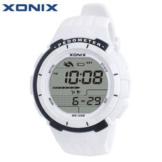 XONIX Pedometer Calories Women Sports Watches Waterproof 100m Digital Watch Running Swimming Diving Wristwatch Montre Femme //Price: $45.99 & FREE Shipping //     #hashtag4