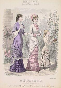 Подростковая мода XIX века - Ярмарка Мастеров - ручная работа, handmade