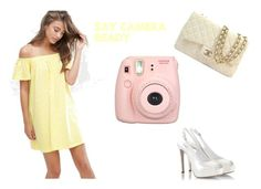 """""""say camera ready"""" by fashion4pashion101 ❤ liked on Polyvore featuring ASOS, Fratelli Karida, Chanel and Fujifilm"""